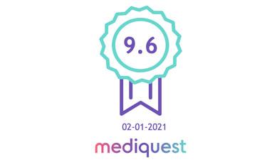 Resultaat van het cliëntervaringsonderzoek, uitgevoerd door Mediquest